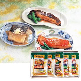 <にんべん> 和食倶楽部、煮魚セット