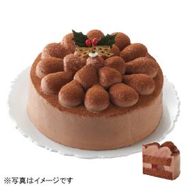 タカキベーカリー 卵と乳と小麦不使用のクリスマスチョコレートケーキ