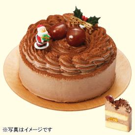 タカキベーカリー 卵・乳・小麦を使わないクリスマスココアケーキ