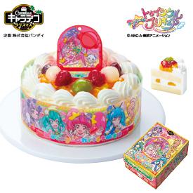 タカキベーカリー 卵・乳・小麦を使わないケーキ キャラデコクリスマス スター☆トゥインクルプリキュア